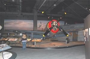 Museum of Flight(Boeing Field)で撮影したP-47D(レザーバック型)